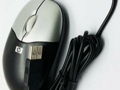 Mouse optic HP, MOAFUO, USB, Silver&Black